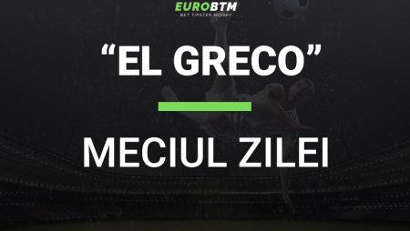 Meciul Zilei EL GRECO 12.10.2021 Euro BTM