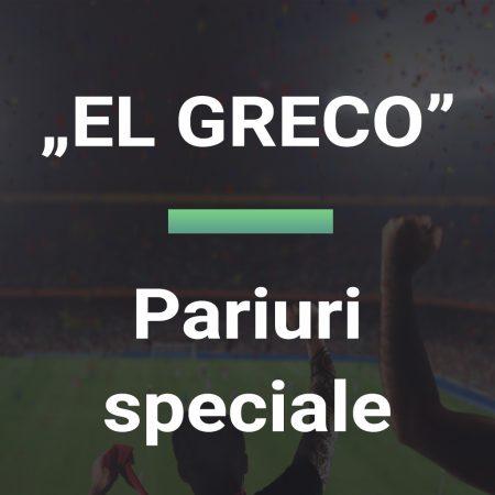 Pariuri speciale EL GRECO 17.10.2021 Euro BTM