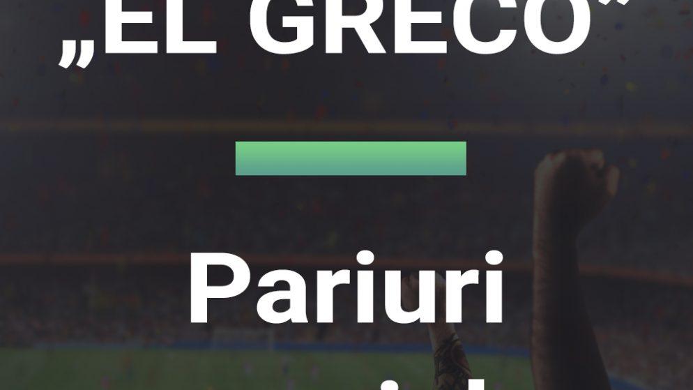 Pariuri speciale EL GRECO 11.10.2021 Euro BTM