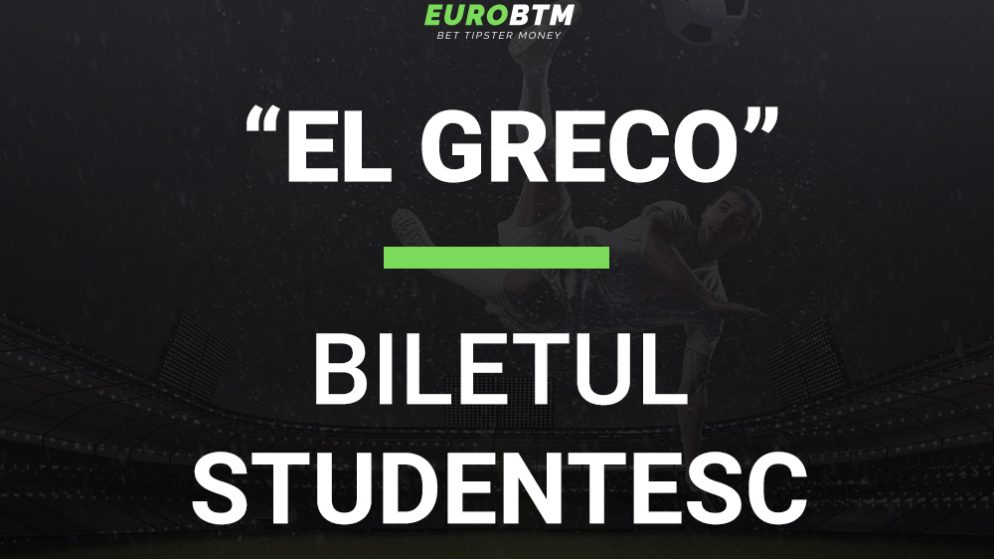 Biletul Studentesc EL GRECO 11.10.2021 Euro BTM
