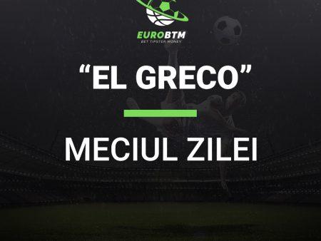Meciul Zilei EL GRECO 24.10.2021 Euro BTM