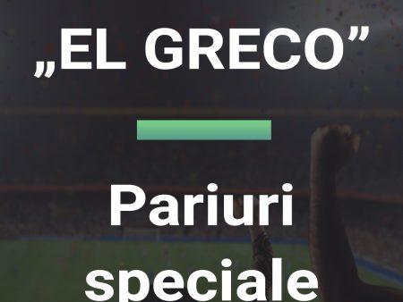 Pariuri speciale EL GRECO 24.10.2021 Euro BTM