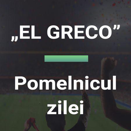Pomelnicul zilei cota 29,00 – EL GRECO 23.10.2021 Euro BTM