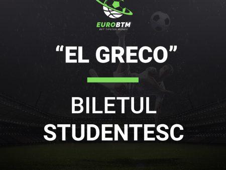 Biletul Studentesc EL GRECO 24.10.2021 Euro BTM
