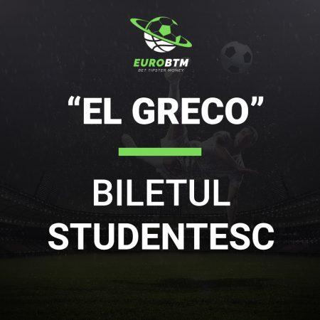 Biletul Studentesc EL GRECO 19.10.2021 Euro BTM
